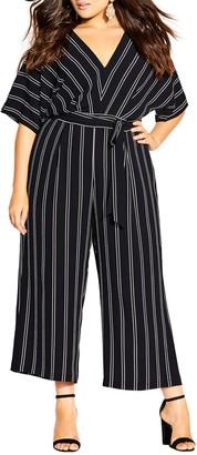 City Chic Delight Jumpsuit (Plus Size)