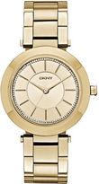 DKNY Womens Stanhope Gold-tone Watch NY2286