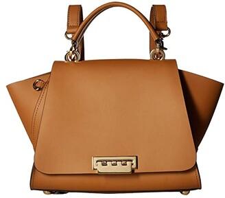 Zac Posen Eartha East/West Convertible Backpack (Camel) Backpack Bags