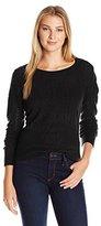 Dockers Women's Herringbone Weave Sweater