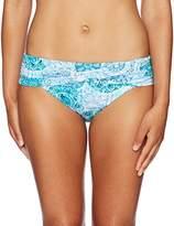 Bleu Rod Beattie Women's Soak up the Sun Sarong Hipster Bikini Bottom