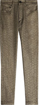 Isabel Marant Metallic Straight Leg Pants