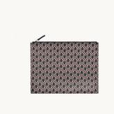 Maje Printed canvas iPad case