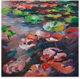 Bassett Mirror Company Lily Pads Canvas Wall Art