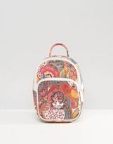 adidas Mini Farm Print Backpack In Bright Floral
