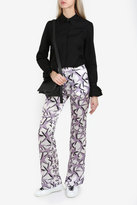 Paul & Joe Star Print Silk Trousers