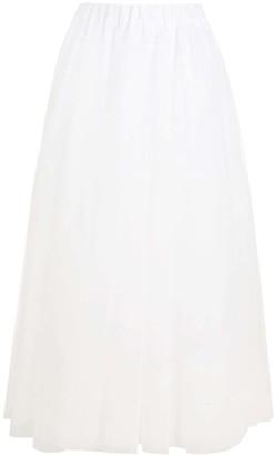 P.A.R.O.S.H. High-Waisted Tulle Skirt