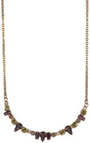 Sorrelli Delicate Multi-Cut Crescent Necklace