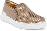 Michael Kors Girls' or Little Girls' Ivy Bret Slip-on Sneakers