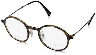Ray-Ban Unisex-Adult's 7073 Optical Frames, Negro