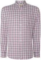 T.M.Lewin Men's Country Check Slim Fit Long Sleeve Shirt