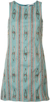 Alice + Olivia Alice+Olivia - embroidered dress - women - Cotton/Polyester/Spandex/Elastane - 0
