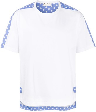 Marni polka dot print T-shirt