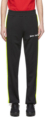 Palm Angels Black and Yellow Classic Track Pants