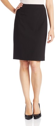 Calvin Klein Women's Straight Fit Suit Skirt (Regular and Plus Sizes)