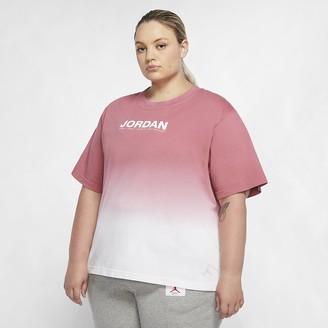 Nike Women's Oversize Short-Sleeve T-Shirt (Plus Size) Jordan