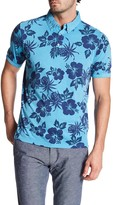 Report Collection Short Sleeve Floral Print Jersey