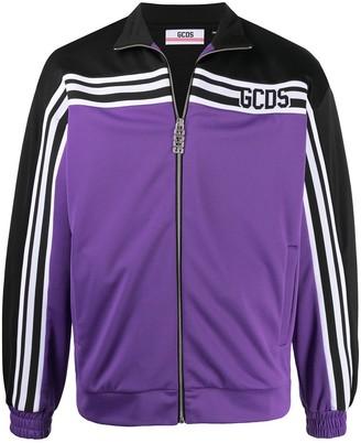 GCDS New Stripe logo track jacket