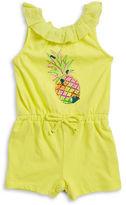 Little Lass Baby Girls Baby Girls Pineapple Romper