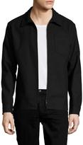 J. Lindeberg Men's Jonah Zip 67 Shirt Jacket