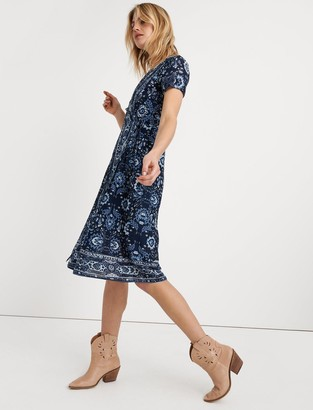 Lucky Brand Ashley Wrap Dress
