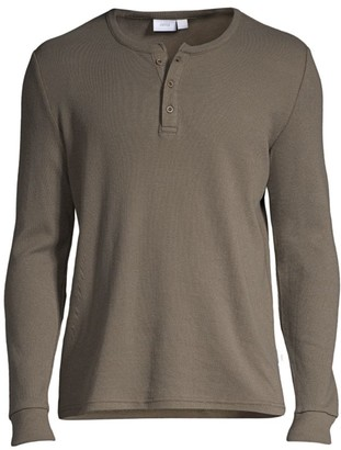 Onia Miles Long-Sleeve Knit Henley