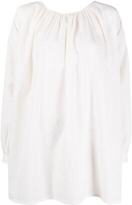 UMA WANG Oversized Cotton Blouse