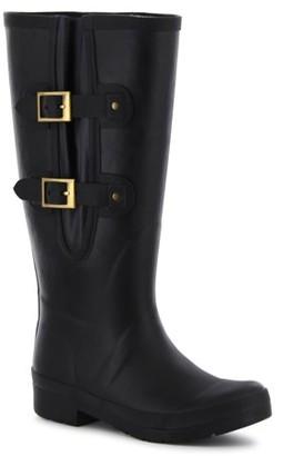 Chooka Women's Adjustable Waterproof Rubber Rain Boot
