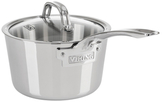 2.5QT. Contemporary Stainless Steel Sauce Pan