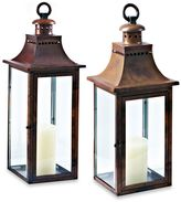 Cambridge Silversmiths Traditions 30-Inch Lantern Candle Holder in Burnished Copper
