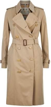 Burberry Long Kensington Heritage Trench Coat