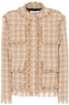 MSGM Cotton-blend tweed jacket