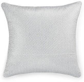 Hotel Collection Pendant Embroidered Grid Cushion