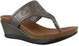 Minnetonka Women's Victoria Wedge Sandal