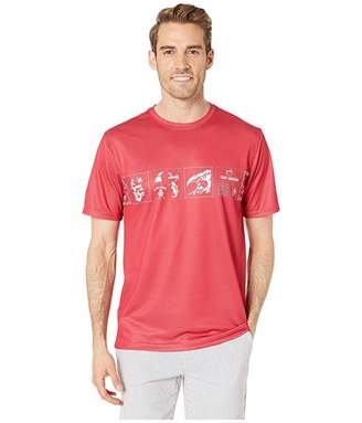 Southern Tide Reyn Spooner Bandana Performance T-Shirt (Roman Red) Men's Clothing
