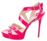 Jimmy Choo Vamp Crossover Sandals