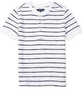 Ralph Lauren Boys 2-7 Striped Cotton Henley Tee