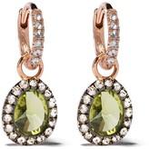 Annoushka 18kt rose gold diamond drop earrings