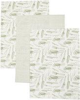 Marks and Spencer 3 Pack Garden Print Tea Towel