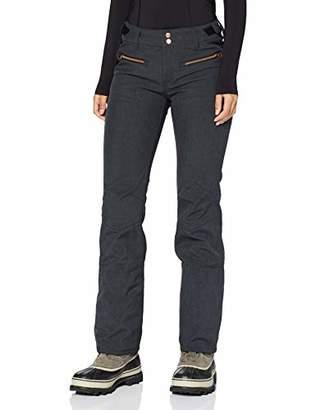 Brunotti Women's Silverlake Melee FW1920 Softshell Pants Trousers, Dark Grey
