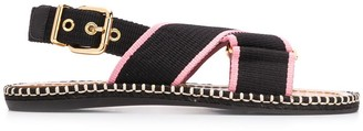 Marni Webbed Strap Sandals