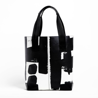 Black Line Crazy What A Honey Tote Bag