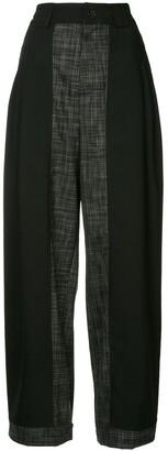 Koché High-Waisted Trousers
