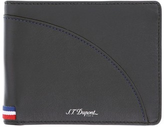 S.t. Dupont Leather Defi Millennium Billfold Wallet
