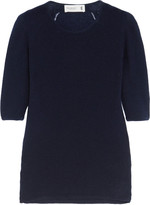 Pringle Pointelle-trimmed cashmere sweater