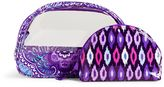 Vera Bradley Clear Cosmetic Duo