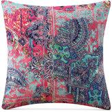 "Tracy Porter Nell Abstract-Print Velvet 18"" SquareDecorative Pillow"