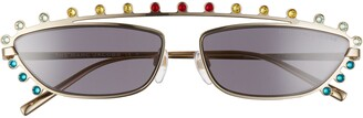Marc Jacobs 60mm Multicolored Cat Eye Sunglasses