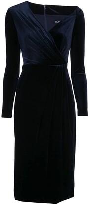 Cushnie velvety pencil dress