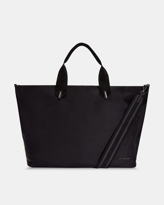 Ted Baker MABELE Large plain nylon tote bag